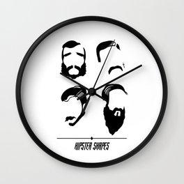 HIPSTER SHAPES Wall Clock