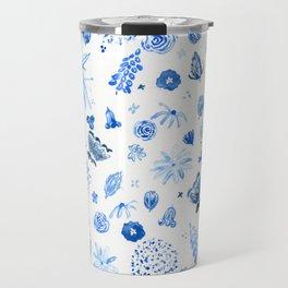 All the blue flowers Travel Mug