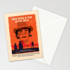 Once Upon A Time In The West Poster: Harmonica Stationery Cards
