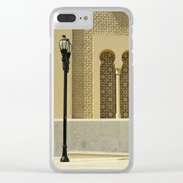 Oriental architecture Clear iPhone Case