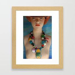 Help Is On The Way Framed Art Print