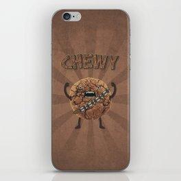 Chewy Chocolate Cookie Wookiee iPhone Skin