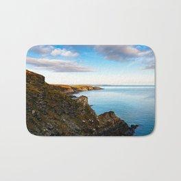 Scenic view of cliffs in Ireland Bath Mat