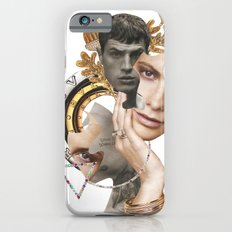 Papercollage Golden Oak Love by Lenka  Laskoradova iPhone 6s Slim Case