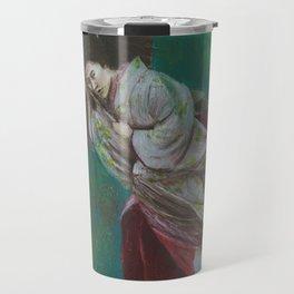 The Geisha on the Washing Line Travel Mug