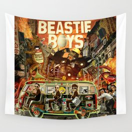 Beastie Invasion Wall Tapestry