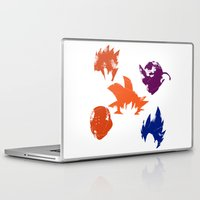 dragon ball z Laptop & iPad Skins featuring Z Fighters by luvusagi