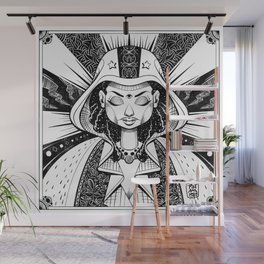 Our Lady of the Cosmos Wall Mural