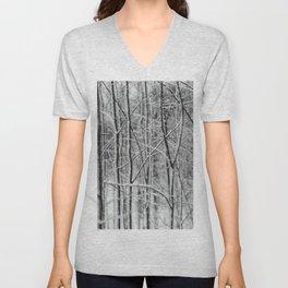 Winter gris Unisex V-Neck