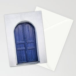 Door in Greece Stationery Cards