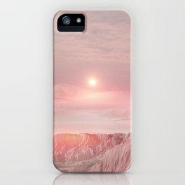 Pastel desert iPhone Case