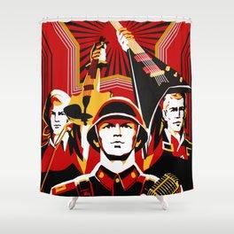 Art print: Propaganda Musik Shower Curtain