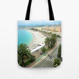 Promenade des Anglais, Nice, France Tote Bag