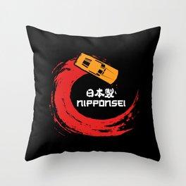 Japanese Car Shirts jdm hatchback Throw Pillow