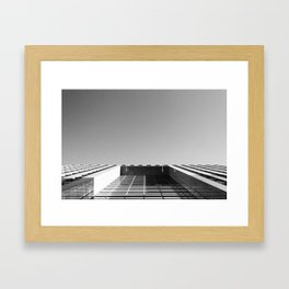 Look Up To The Sky Again Framed Art Print
