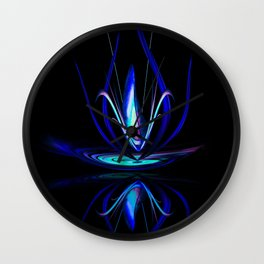 Abstract Perfection - Magical Light And Energy 100 Wall Clock