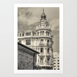 Oviedo memories #2 Art Print