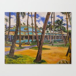 Mama's Fish House, Maui Canvas Print