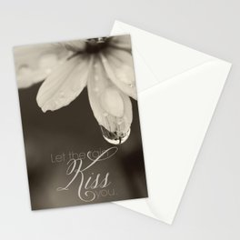 Let the Rain Kiss You Stationery Cards