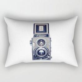 Vintage Camera Twin Lens Flexaret Rectangular Pillow