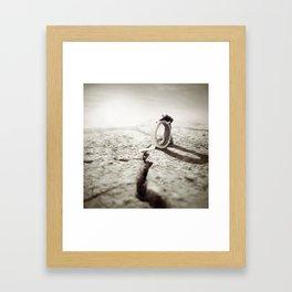 EVIDENCE OF LIFE Framed Art Print