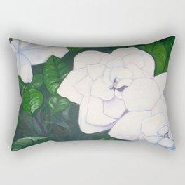 Gardenias for Mom Rectangular Pillow