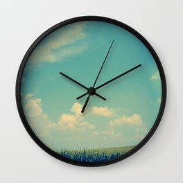 Somewhere Off in the Distance Wall Clock