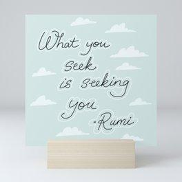 Rumi I Mini Art Print