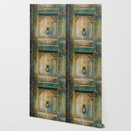 Architectural Design: The Weathered Door Wallpaper