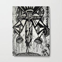 dripping Metal Print