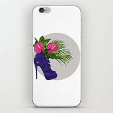 Thank you for flowers iPhone & iPod Skin