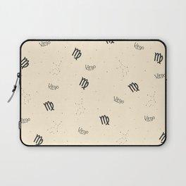 Virgo Pattern - Beige Laptop Sleeve