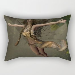 In My backyard Rectangular Pillow