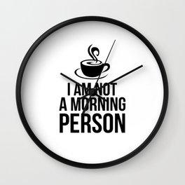 Coffee Mug Wall Clock
