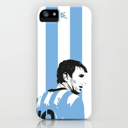 Messi Argentina iPhone Case