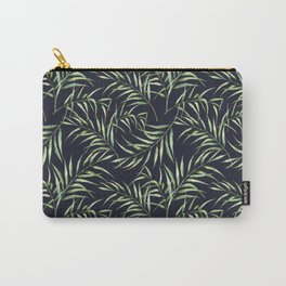 Tropical palm pattern. Watercolor Carry-All Pouch