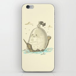 Ghost Ship iPhone Skin