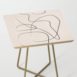 Abstract Line I Side Table
