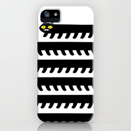 Cryptid Long Cat iPhone Case