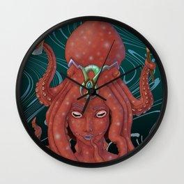 Hundread the Cephalopodian Wall Clock