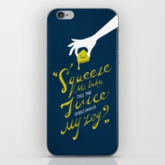 The Lemon Song iPhone & iPod Skin