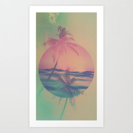 SOLSTICE II Art Print