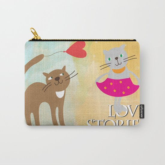 Cats - love stories Carry-All Pouch