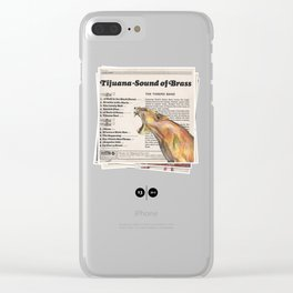 His Master's Voice - Lion Clear iPhone Case