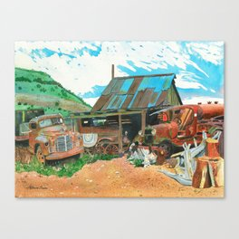 Another Man's Treasure Canvas Print
