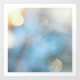 Blur Bokeh Background #1 Art Print