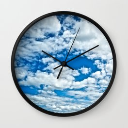 Clouds in the Sky - The Peace Collection Wall Clock