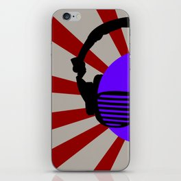 Rising DJ iPhone Skin