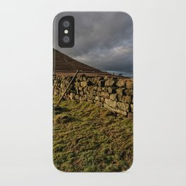 Roseberry Topping iPhone Case