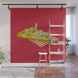 Hungry for Travels: Slice of Italy Wall Mural